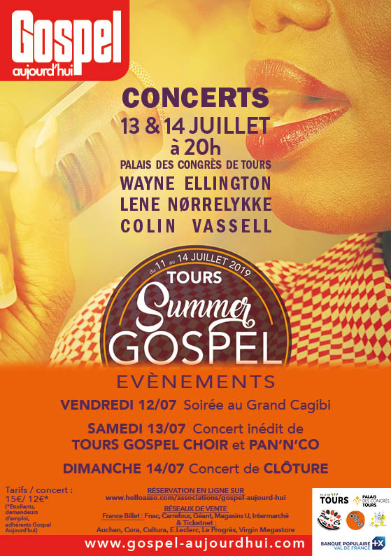 hotel restaurant kyriad tours sud chambray concert gospel